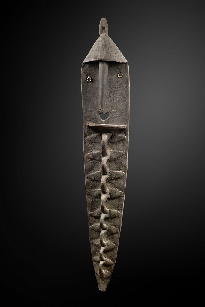Sculpture Minja - Monts Washkuk Papouasie-Nouvelle-Guinée
