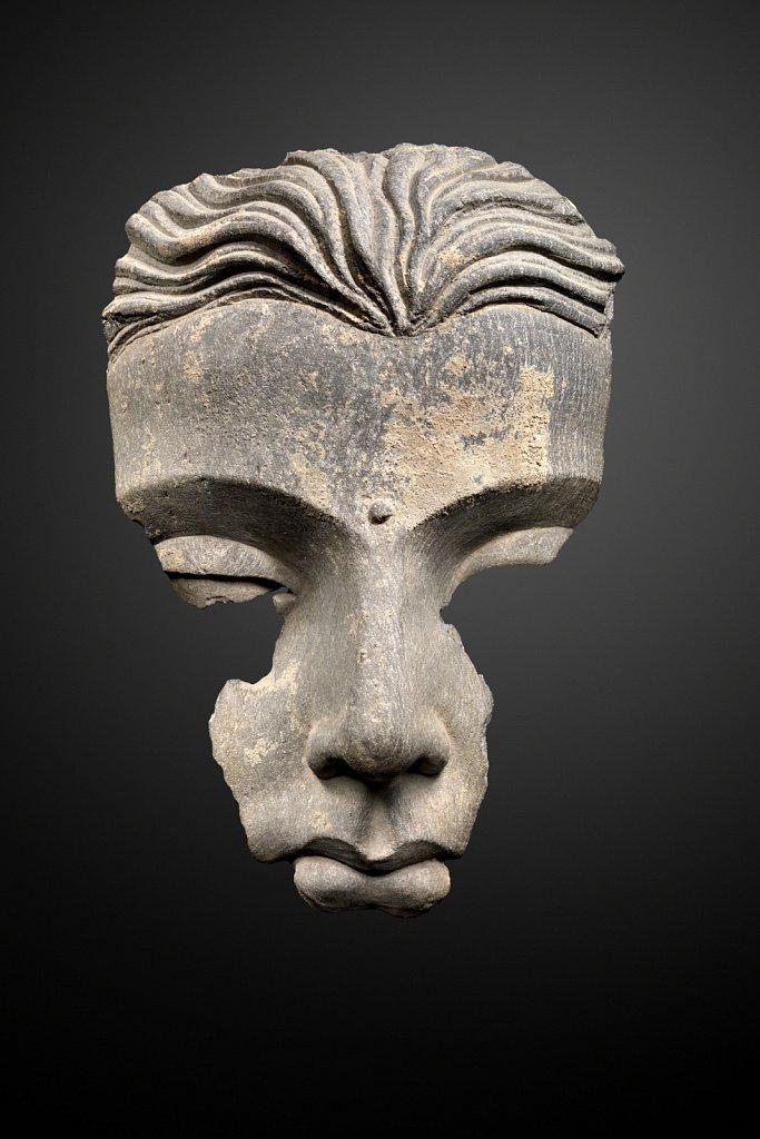 Tête de Bouddha Gandhâra