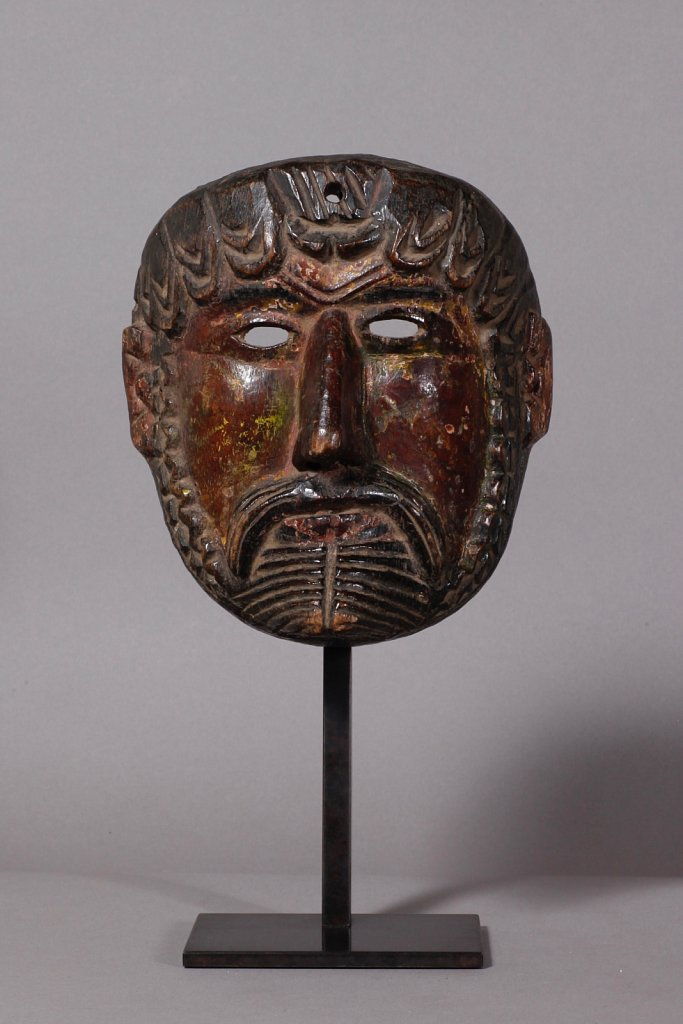 Masque de chrétien - Mexique