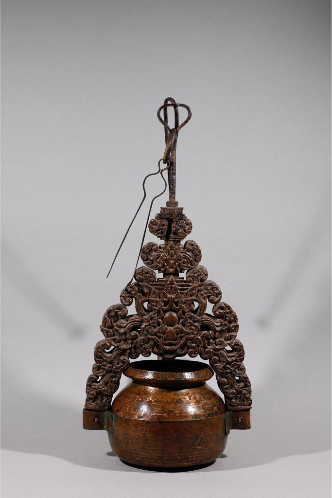Lampe à huile de wayang kulit 3